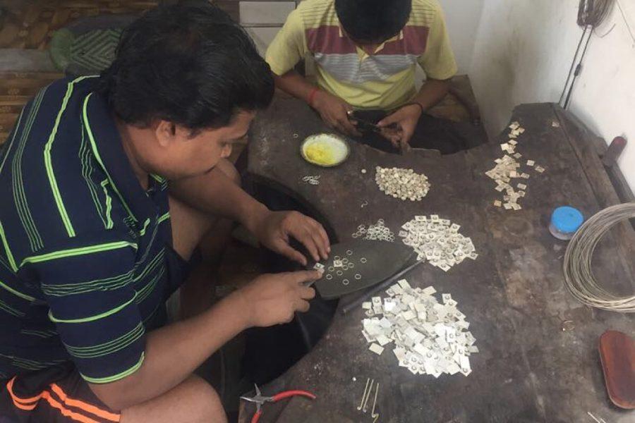 fabrication des bijoux argent